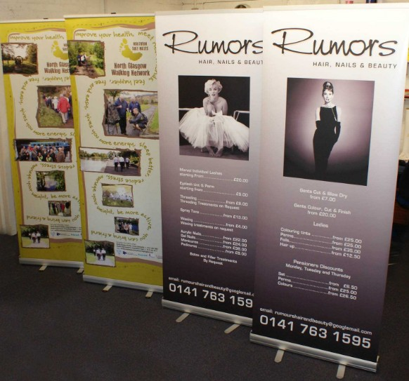 replacement roller banner graphics